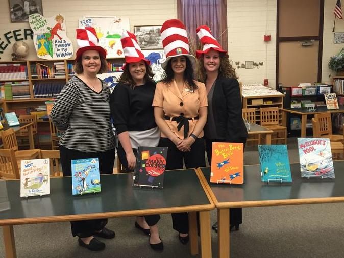 Images from Read Across America Dr. Seuss
